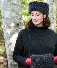 Woolly Loop Accessories Using Rowan Cocoon