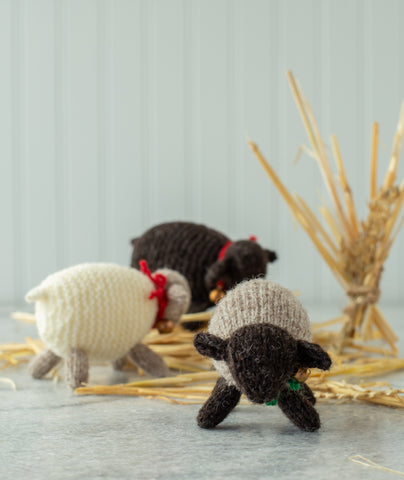 Woolly Wee Sheep Kit Using Jamieson's Shetland Spindrift