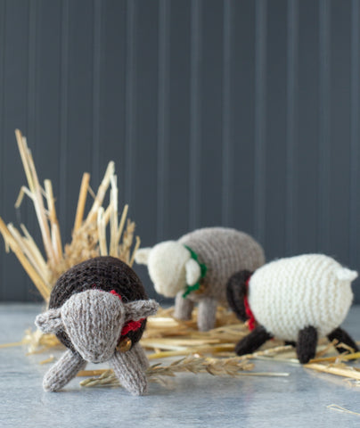 Woolly Wee Sheep Kit Using Jamieson's DK