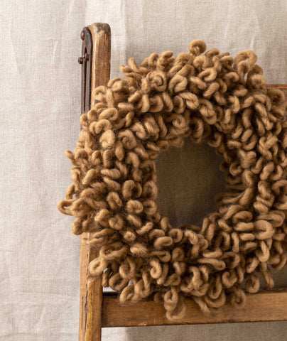 Woolly Wreath & Garland Using Wool and the Gang Crazy Sexy Wool