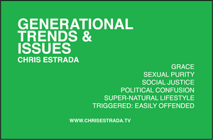 GENERATIONAL TRENDS & ISSUES VOLUME 2
