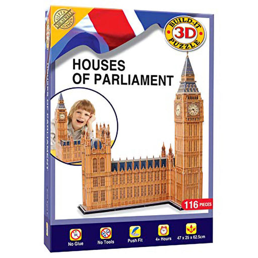3D Houses Of Parliament Puzzle