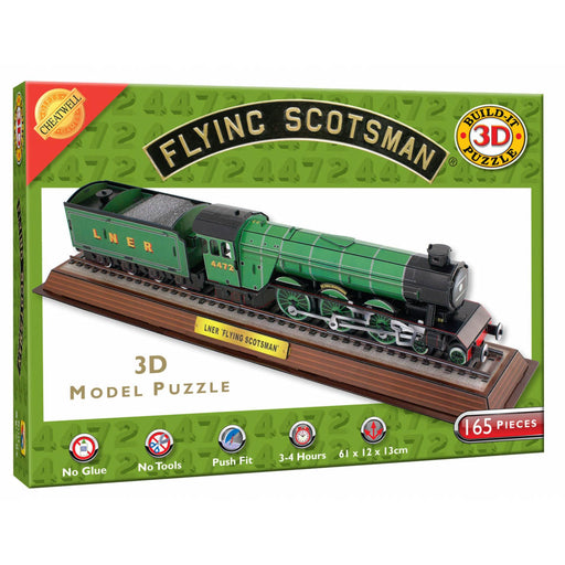 3D The Flying Scotsman 165 Piece Puzzle