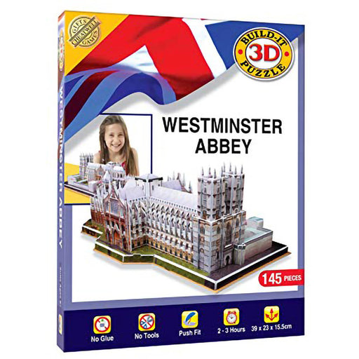 3D Westminster Abbey Puzzle
