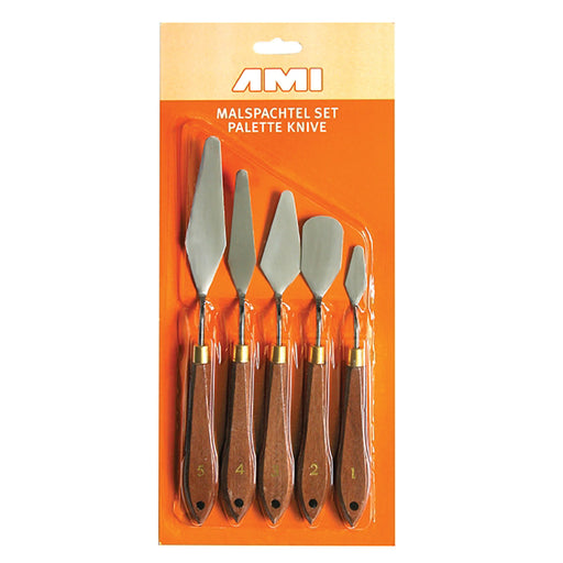 Ami Palette Knife Set 5 Metal