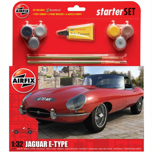 Airfix E-Type Jaguar Starter Set