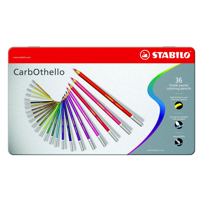 Carbothello Pastel Pencils - Tin Of 36