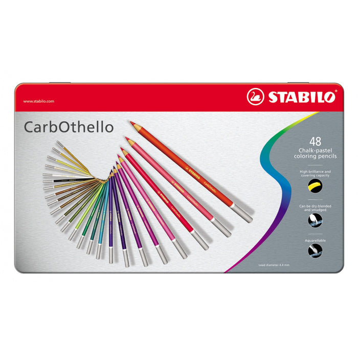Carbothello Pastel Pencils - Tin Of 48