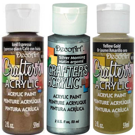 Deco Art Crafters Acrylic 59ml Metallic