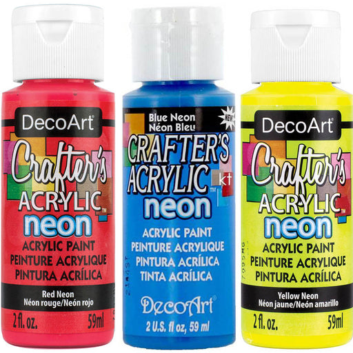 Deco Art Crafters Acrylic 59ml Neon