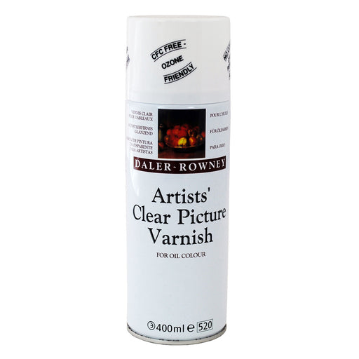 Daler Rowney Clear Picture Varnish Aerosol Spray 400ml