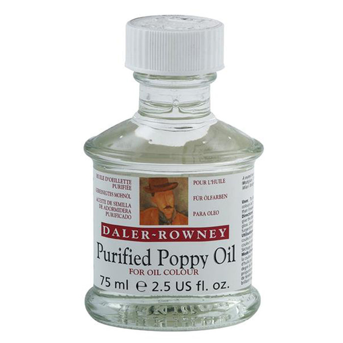 Daler Rowney Purified Poppy Oil -75ml