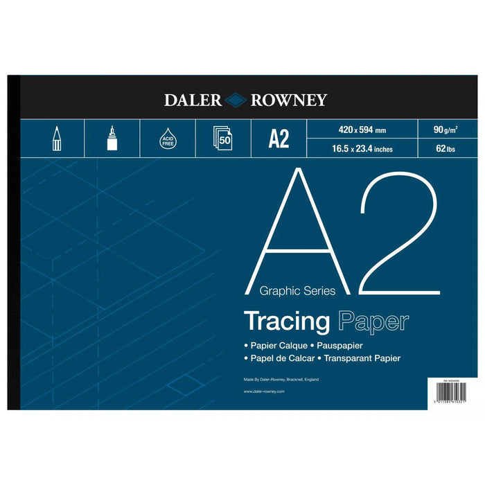Daler Rowney Tracing Pads 60/90gsm
