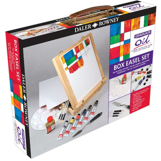 Daler Rowney Graduate Oil Easel Box Set