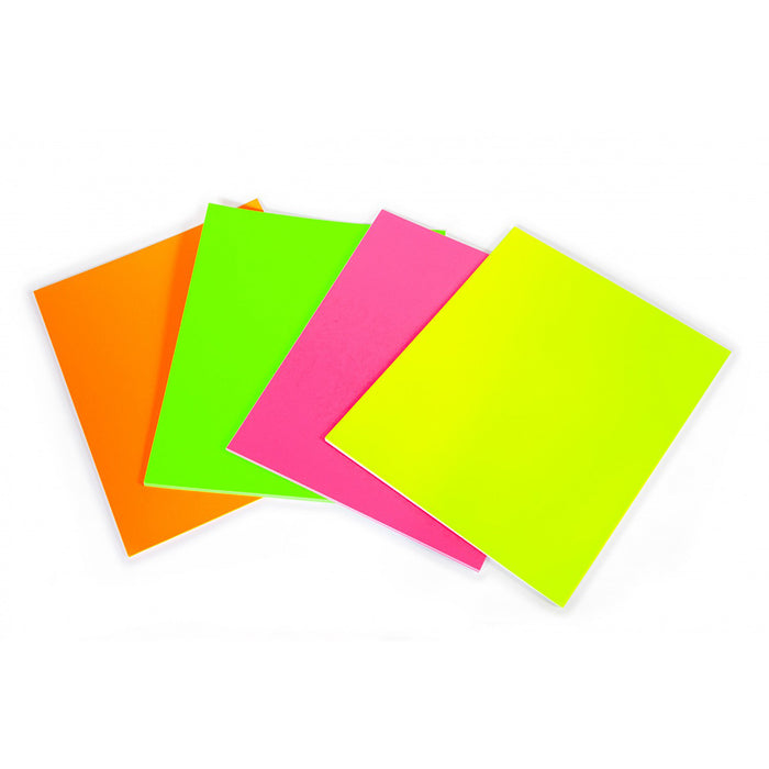 Dayglo Fluorescent Card 51 x 76cms 280gsm Pack of 10