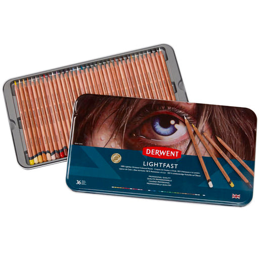 Derwent Lightfast Tin 72 Pencils
