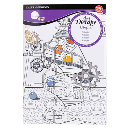 Utopia Large A4 Daler Rowney Simply Art Therapy