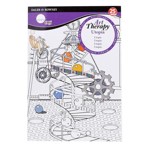 Utopia Small A5 Daler Rowney Simply Art Therapy