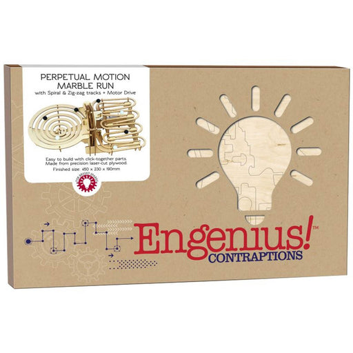 Engenius Marble run game build kit box