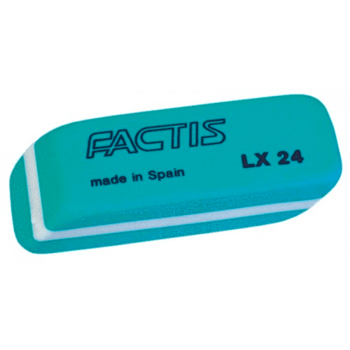 Factis Latex Eraser (box)