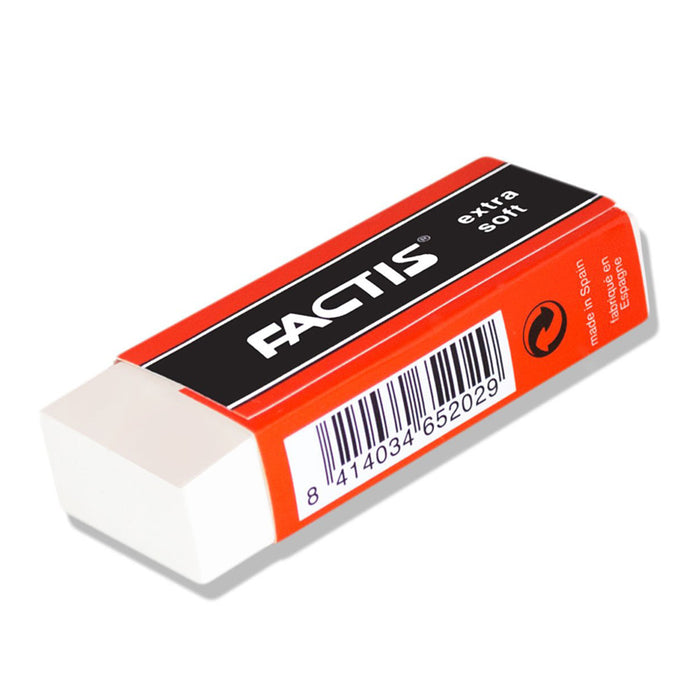 Factis ES20 Extra Soft Eraser Box of 20