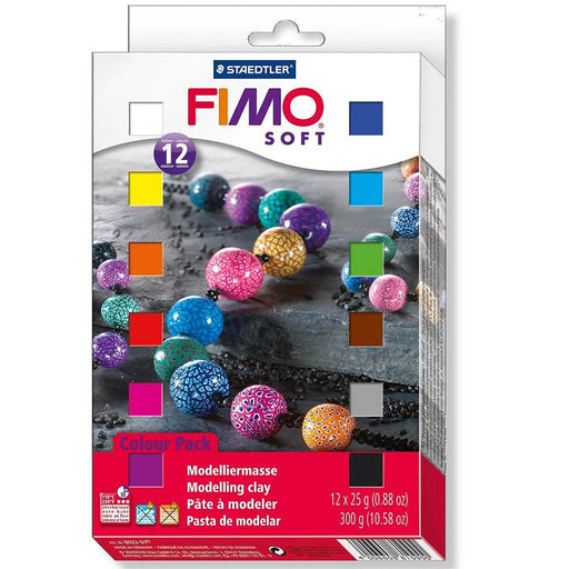 Fimo Soft 12 1/2 Block Set