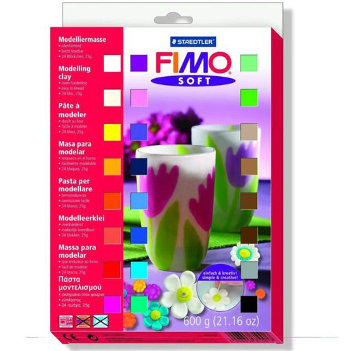 Fimo Soft 24 x 25g Block Set