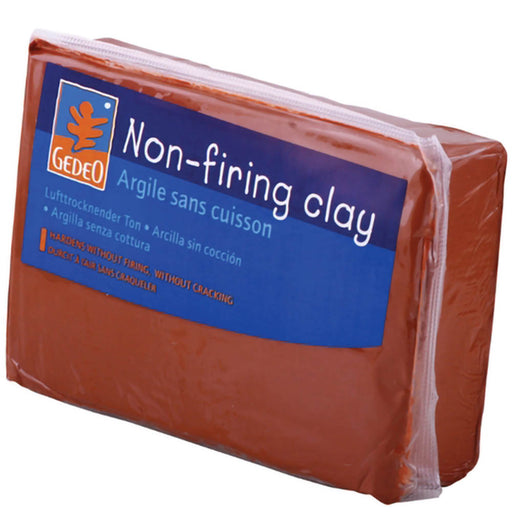 Gedeo Air Drying Clay 1.5kg - Red Terracotta