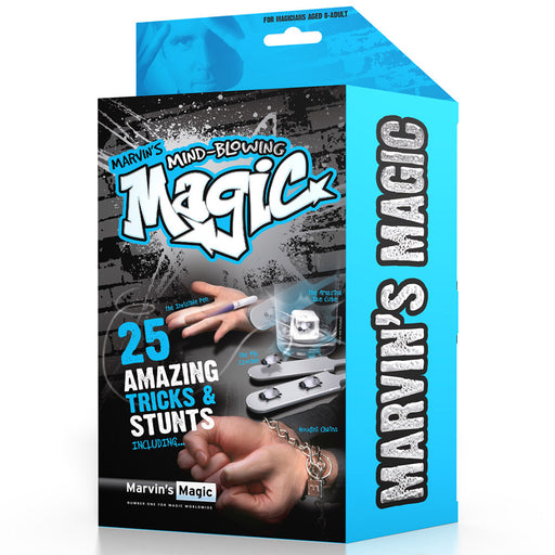 Marvin's easy magic trick and stunts box
