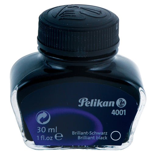 Pelikan 4001 Brilliant Black ink - 62.5ml