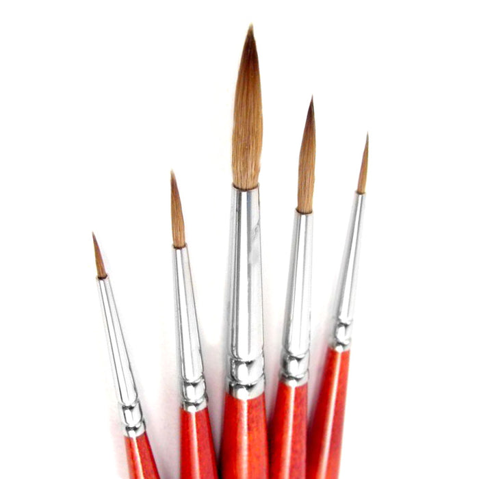 Pro Arte W9 sable watercolour brush set