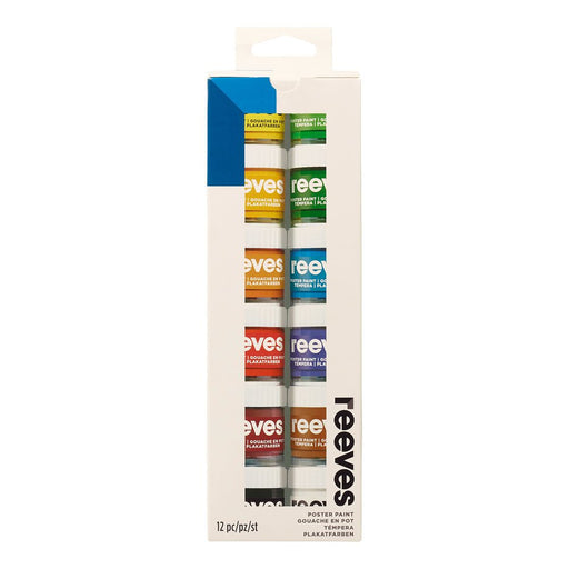Reeves Poster Colour Set - 12 x 22ml