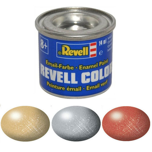 Revell enamel metallic paint 14ml