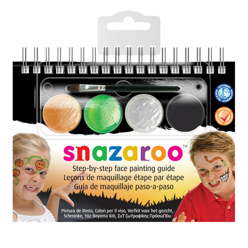 Snazaroo Halloween Step By Step A6 Booklet