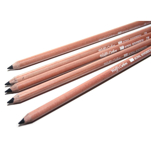 Wolff Carbon Pencil Pack of 12