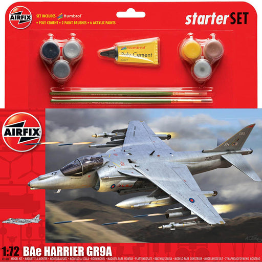 Airfix BAE Harrier GR9 Gift Set