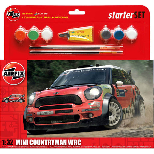 Airfix Mini Countryman WRC Large Starter Set