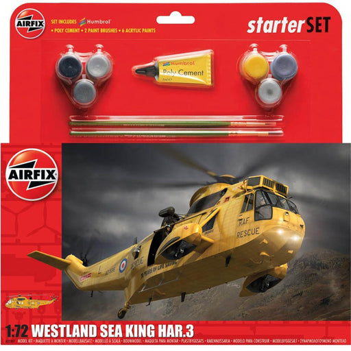 Airfix Westland Sea King Large Starter Set
