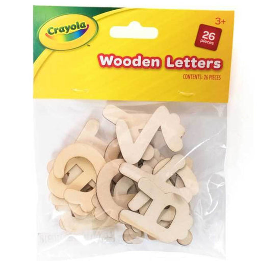 Crayola Wood Letters 26 Pieces