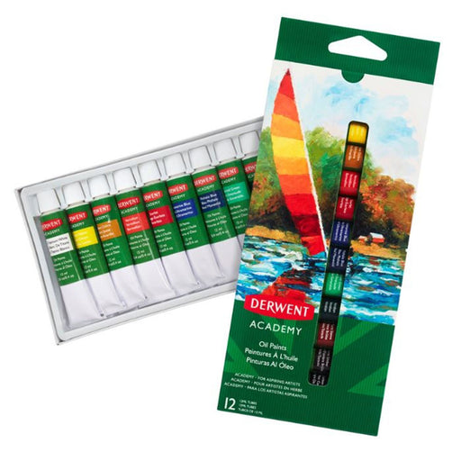 Derwent Academy Oil Paints x 12