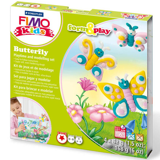 Fimo Butterfly Form & Play Set