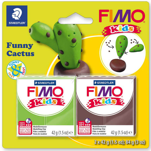 Fimo Kids modelling clay kit - Funny Cactus