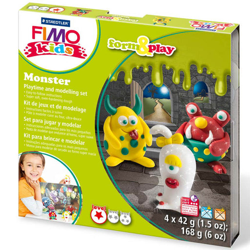 Fimo Monster Form & Play Set