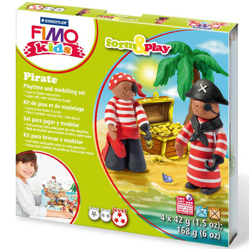 Fimo Pirate Form & Play Set