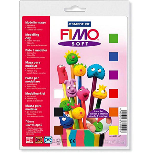 Fimo Soft Basic Set 9 x 25g