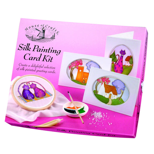 House of Crafts - Silk Painting Kit