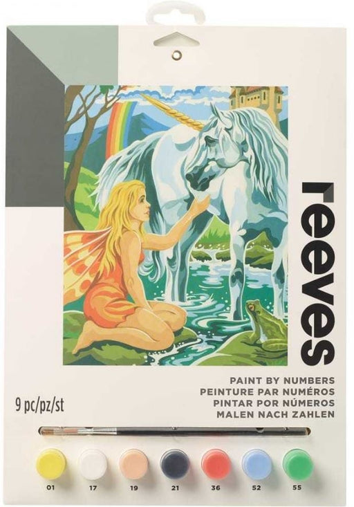 Reeves Unicorn Medium Paint By Numbers