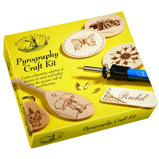 House of Crafts - Pyrography Kit