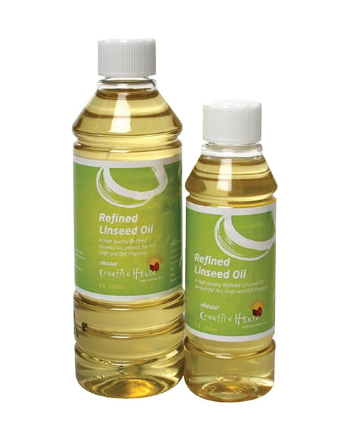 Artists' Refined Linseed Oil