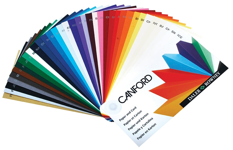 Canford Coloured Card 300gsm A4 (pack of 50)